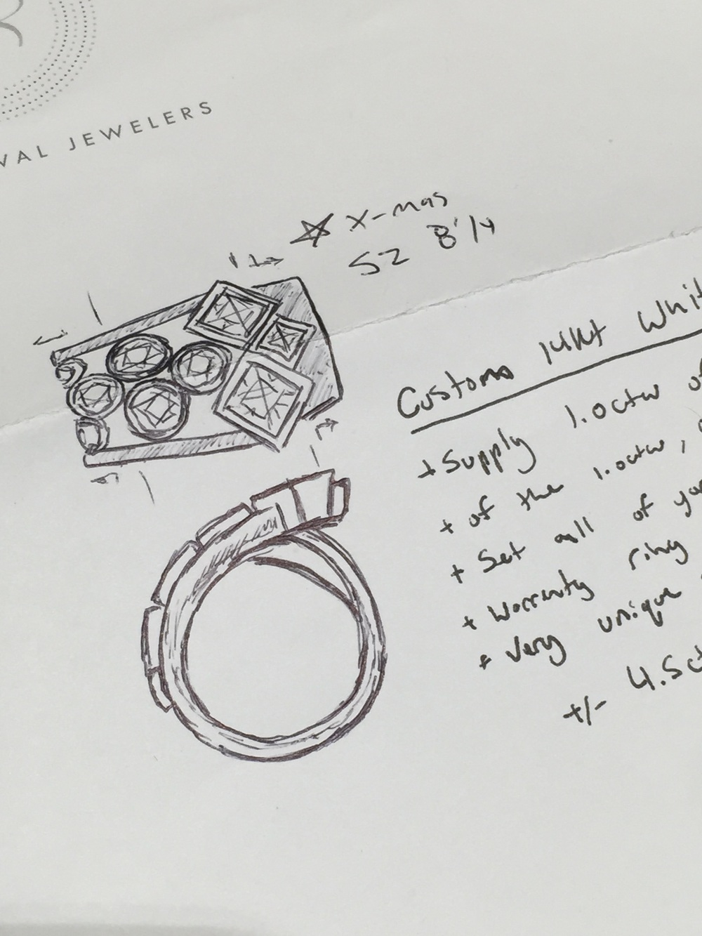 sketch-unique-custom-redesign-old-jewelry-new-piece-reuse-custom-rings-jewelry-design-your-own-jewelry-raft-revival-jewelry-store-grand-rapids