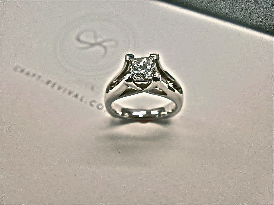 unique-solitaire-princess-cut-white-gold-engagement-ring-craft-revival-jewelry-store-grand-rapids
