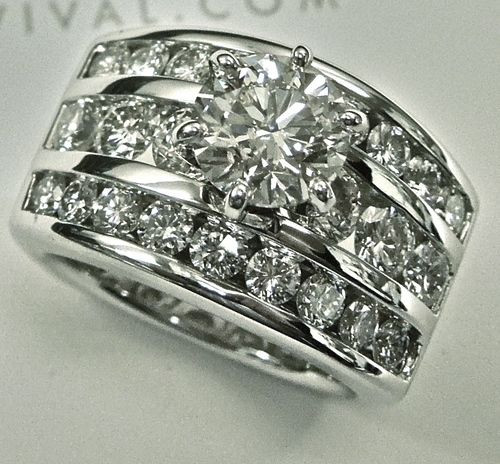 unique-triple-band-white-gold-round-diamond-engagement-ringcraft-revival-jewelry-store-grand-rapids