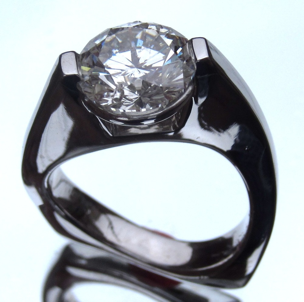 unique-modern-solitaire-round-diamond-engagement-ring-craft-revival-jewelry-store-grand-rapids