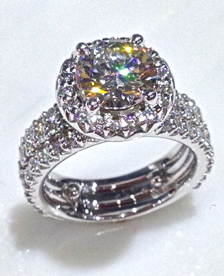 unique-round-diamond-halo-delicate-diamond-bands-engagement-ring-craft-revival-jewelry-store-grand-rapids