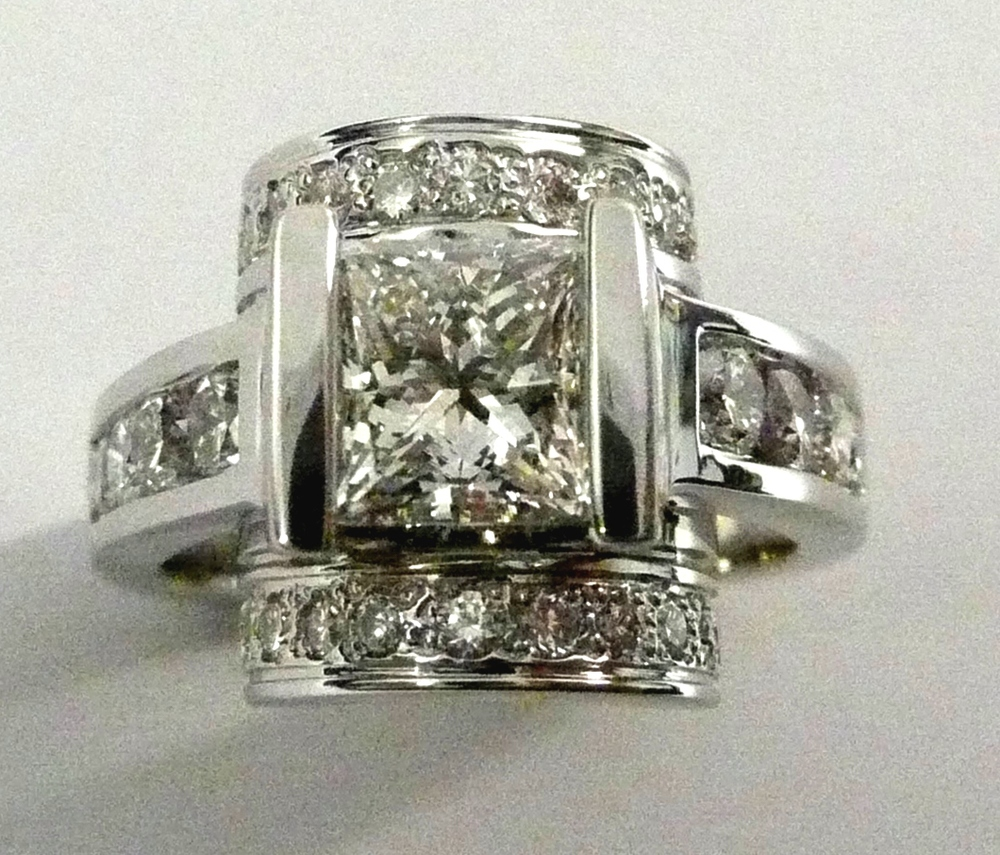 Craft-Revival Jewelers,  engagement ring, diamond engagement ring, diamond ring, modern ring, unique ring, unique engagement ring