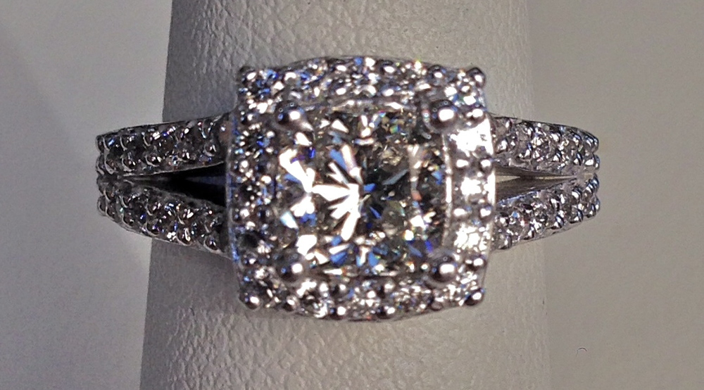 unique-cushion-cut-diamond-halo-split-shank-engagement-ring-craft-revival-jewelry-store-grand-rapids