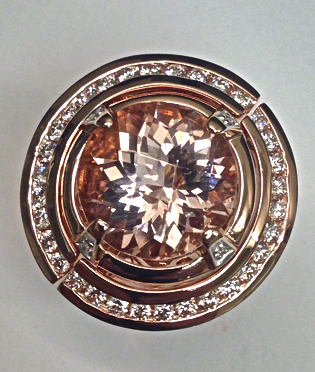 unique-round-cut-morganite-halo-diamonds-rose-gold-craft-revival-jewelry-store-grand-rapids