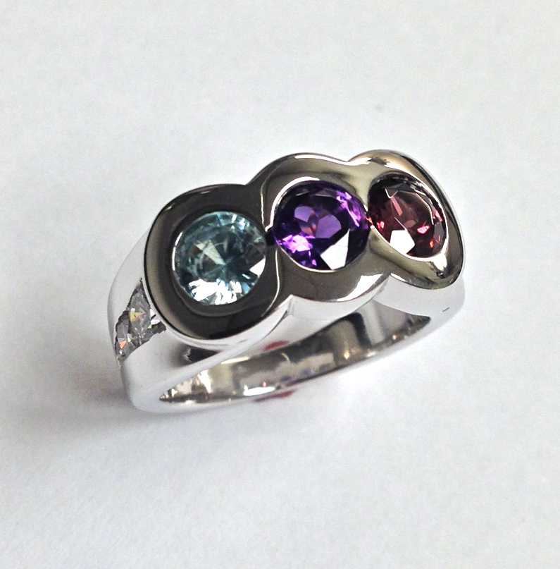 Craft-Revival Jewelers, unique ring, unique mothers ring