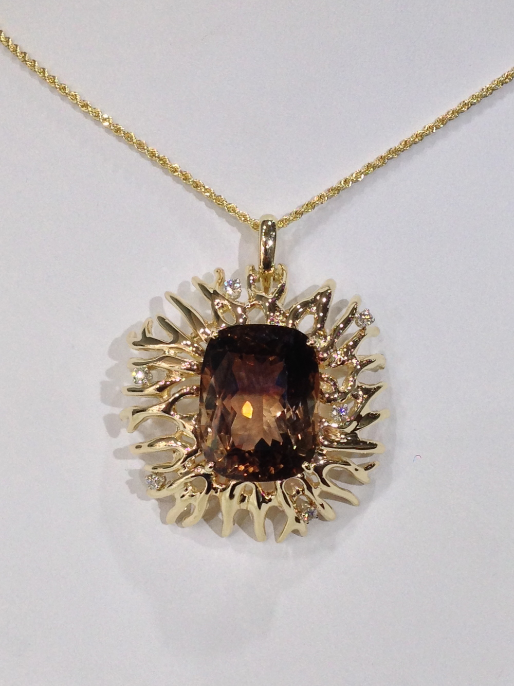 unique-custom-yellow-gold-bi-color-topaz-pendant-diamond-accent-craft-revival-jewelry-store-grand-rapids