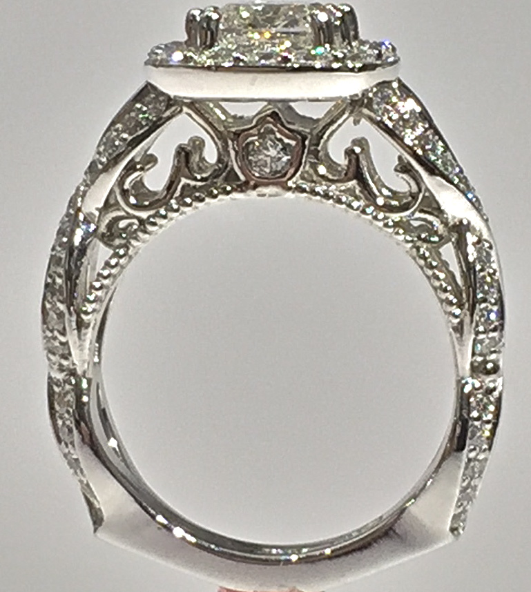Craft-Revival Jewelers,  engagement ring, diamond engagement ring, diamond ring, modern ring, unique ring, unique engagement ring, antique ring, engraved ring