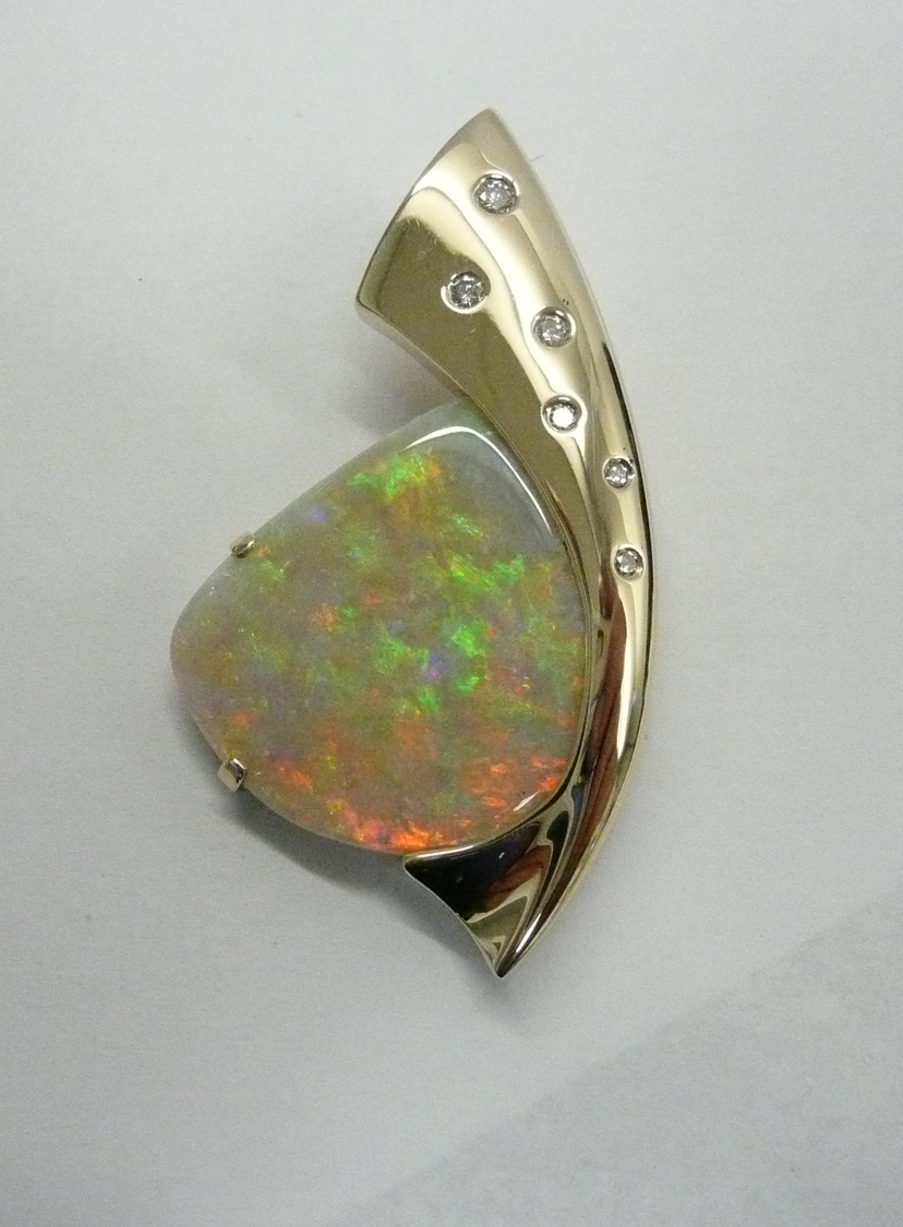 unique-custom-opal-pendant-yellow-gold-diamond-accents-fashion-pendant-craft-revival-jewelry-store