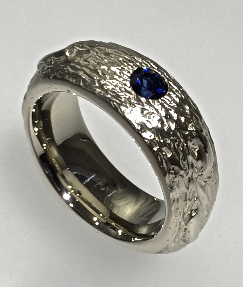 unique-modern-designed-textured-blue-stone-gents-band-mens-wedding-ring-craft-revival-jewelry-store-grand-rapids