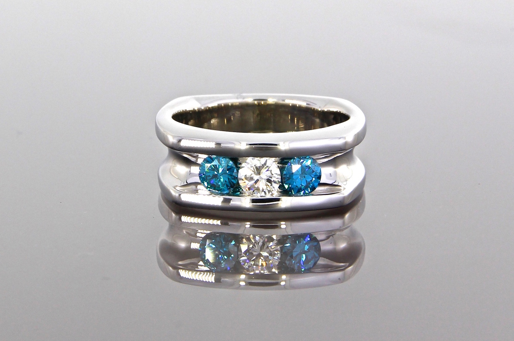 unique-blue-diamond-white-diamond-mens-wedding-band-craft-revival-jewelry-store-grand-rapids