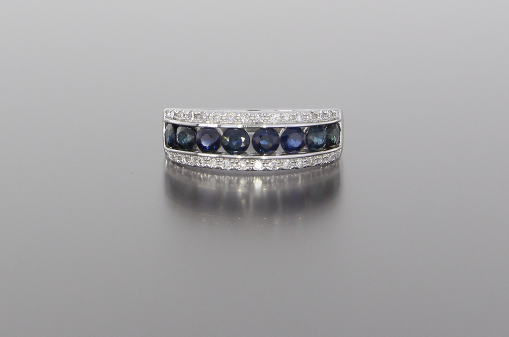 unique-sapphire-diamond-wedding-ring-blue-stones-craft-revival-jewelry-store-grand-rapids