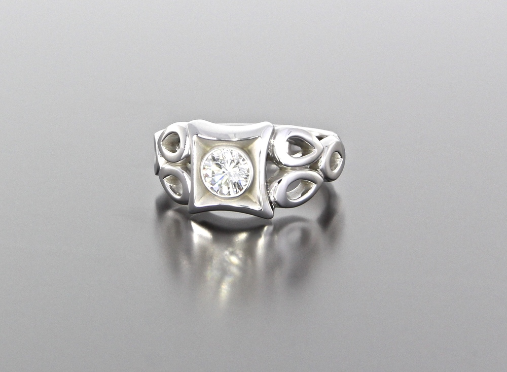 Round Cut unique-diamond-round-cut-modern-engagement-ring-craft-revival-jewelry-store-grand-rapids