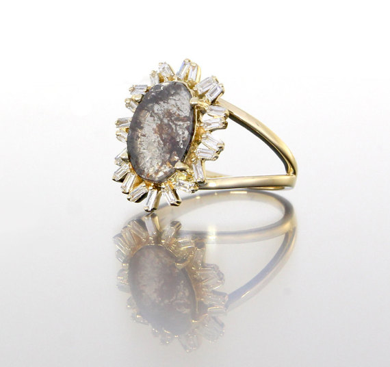 side-view-unique-ladies-yellow-gold-diamond-slice-raw-diamond-halo-engagement-ring-craft-revival-jewelry-store-grand-rapids