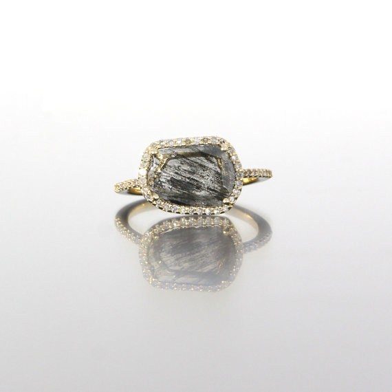 unique-ladies-yellow-gold-diamond-slice-raw-diamond-delicate-halo-engagement-ring-craft-revival-jewelry-store