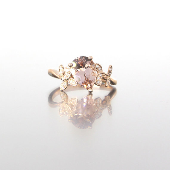 unique-rose-gold-pear-shape-morganite-diamonds-alternative-engagement-ring-craft-revival-jewelry-store-grand-rapids