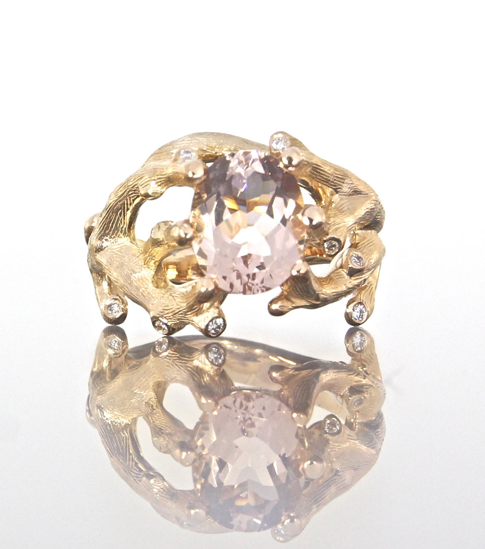 unique-oval-cut-morganite-diamond-alternative-engagement-ring-craft-revival-jewelry-store-grand-rapids