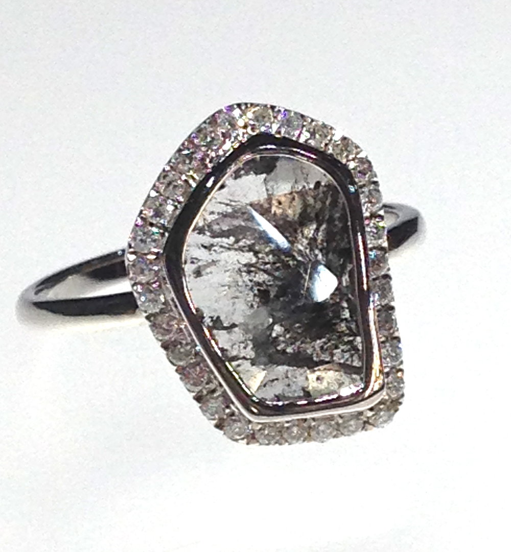 unique-ladies-white-gold-diamond-slice-halo-raw-diamond-engagement-ring-craft-revival-jewelry-store