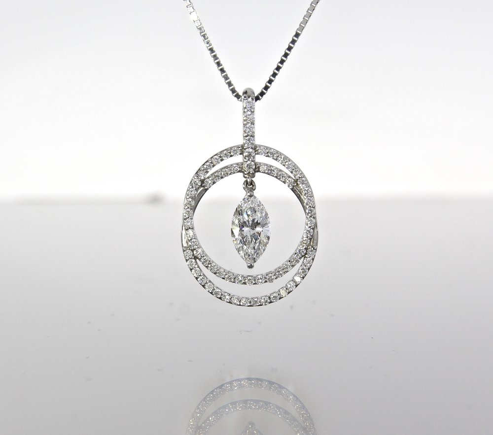 unique-double-halo-marquise-diamond-white-gold-pendant-craft-revival-jewelry-store-grand-rapids