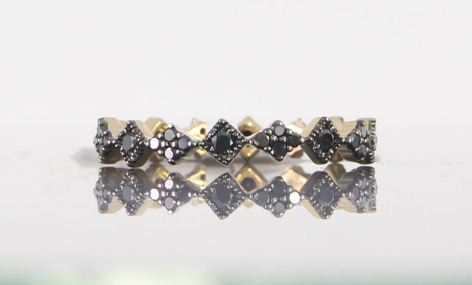 unique-dainty-delicate-black-diamond-eternity-band-gold-craft-revival-jewelry-store-grand-rapids