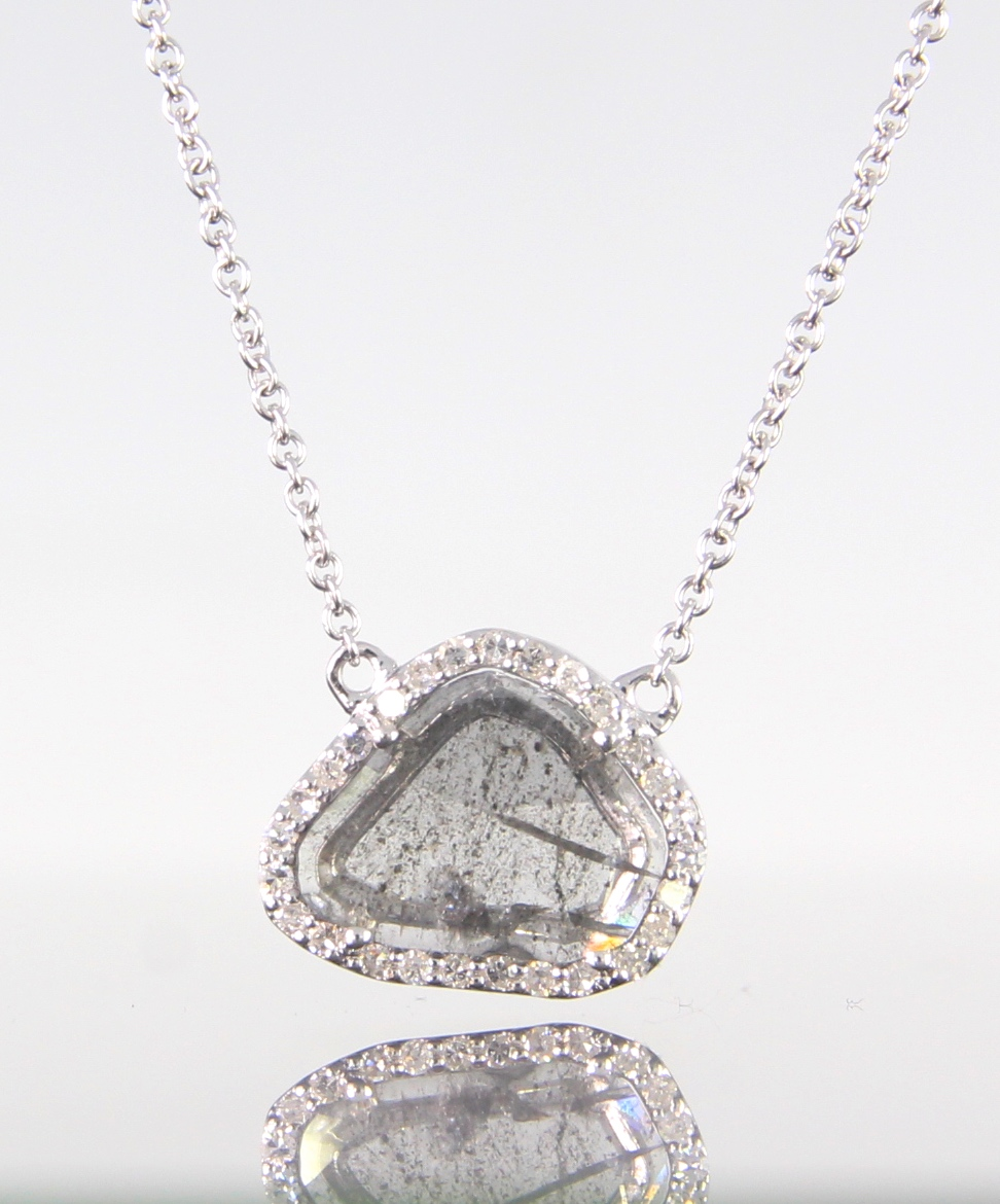 unique-rough-natural-diamond-slice-diamond-halo-white-gold-pendant-craft-revival-jewelry-store-grand-rapids