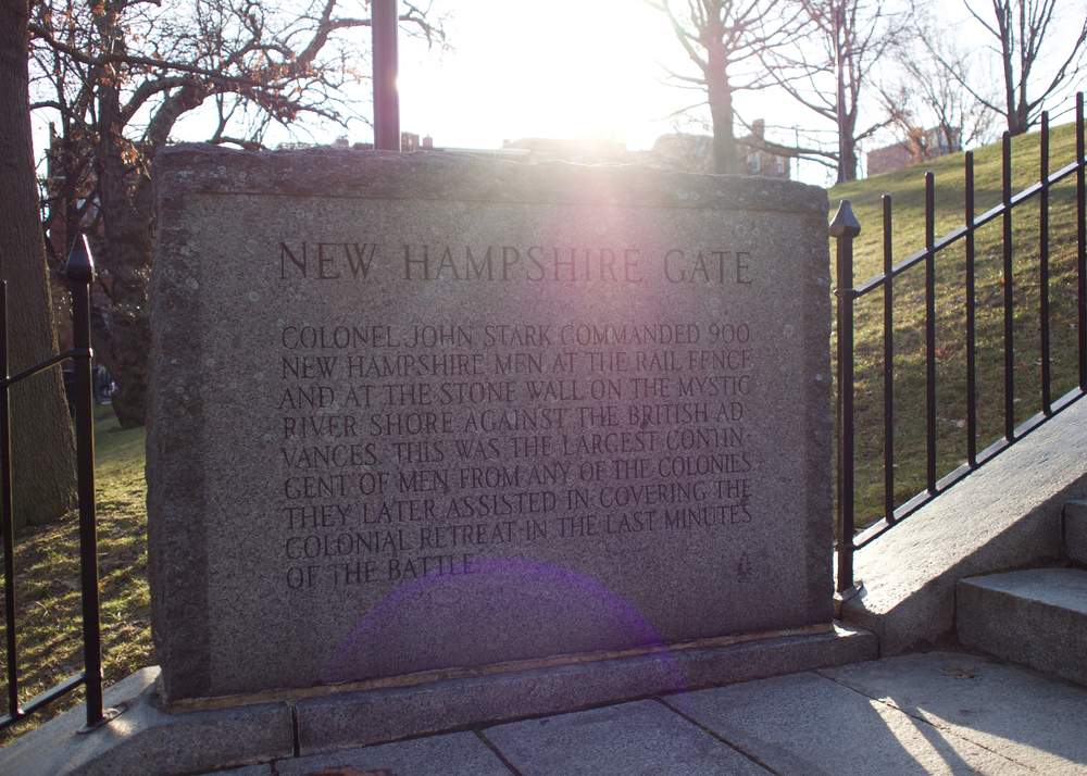 IRL New Hampshire Gate Detail