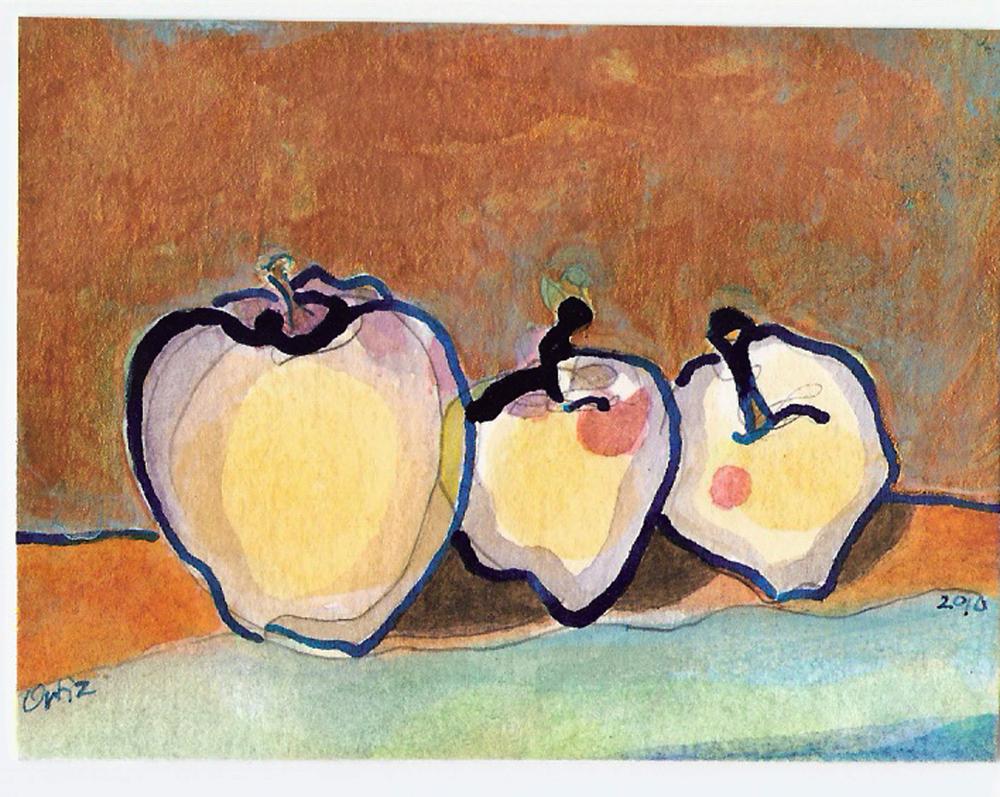 Apples Gold Leaf