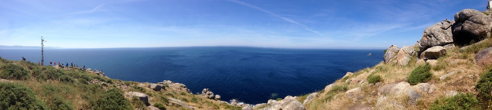 Finisterre, Spain - taken with my iPhone