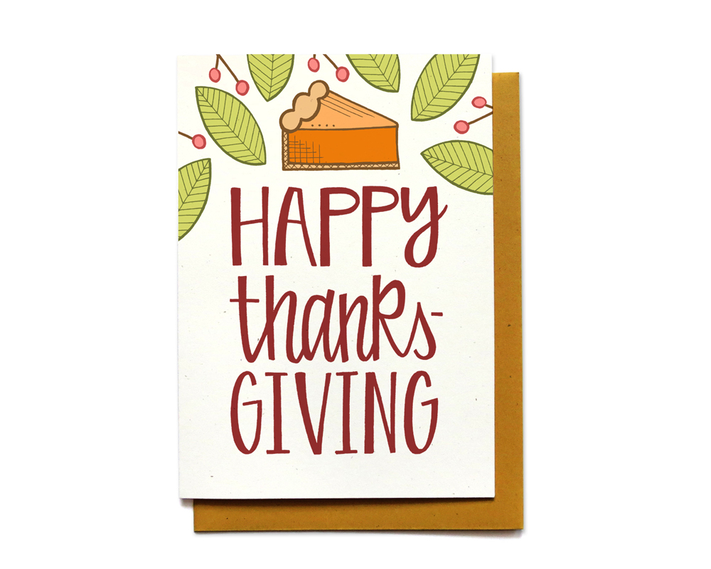 happy thanksgiving - hennel paper co