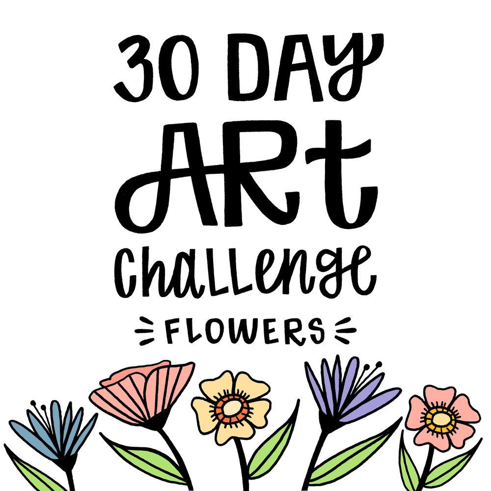 30 day flower challenge