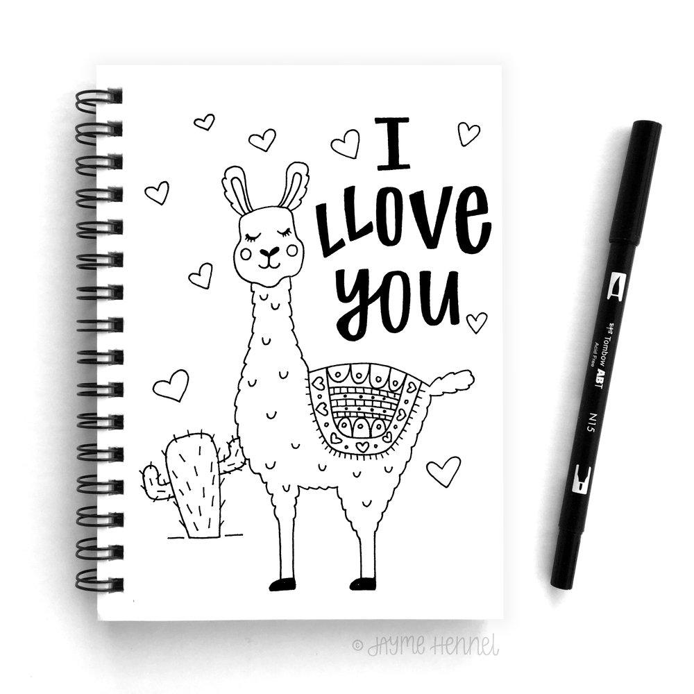 llama sketchbook.jpg