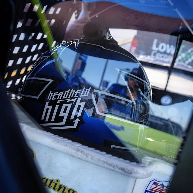 Eyes on the prize 🏁 #nascar @jordanandersonracing