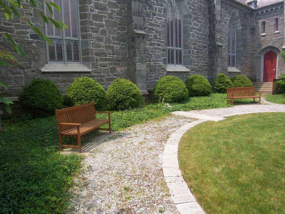 Trinity Episcopal Church Memorial Garden T J Boyle Associates