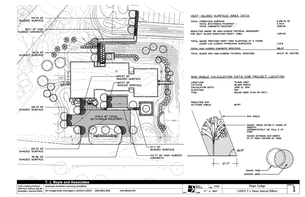 TJ Boyle LEED Plans