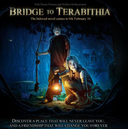 Bridge to Terabithia - Poster