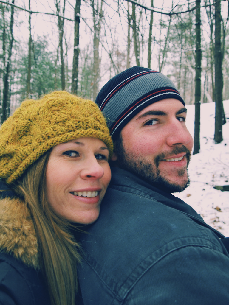 Four wheeling with Eric in Copake last January