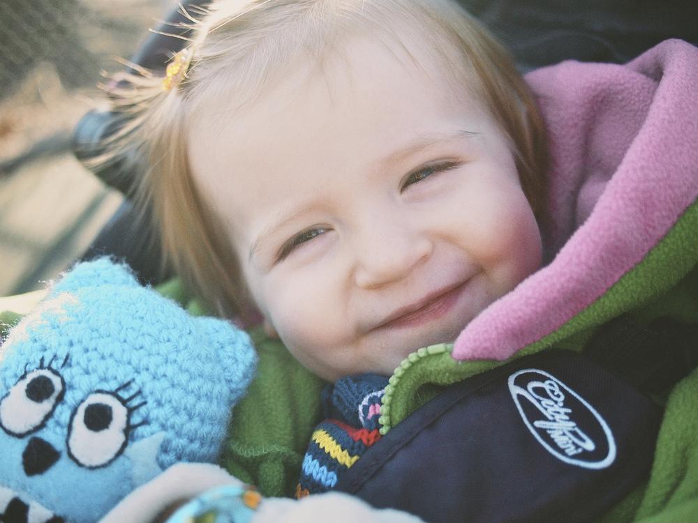 Lila, Age 1 - Week 7.