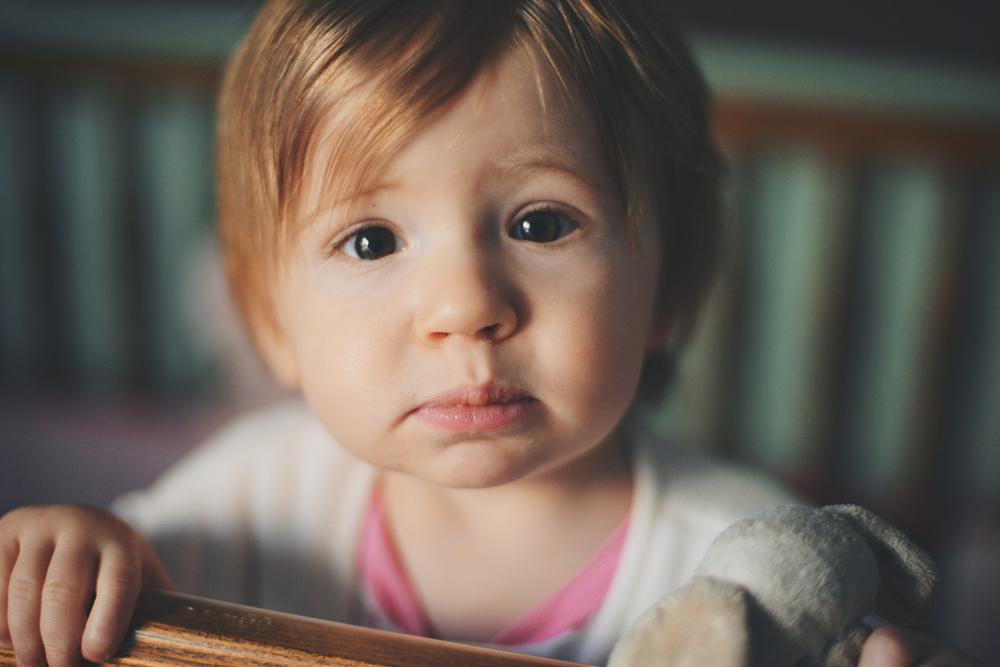Lila, Age 1 - Week 5.