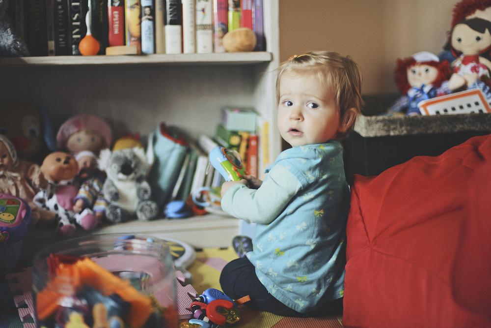 Lila, Age 1 - Week 4.
