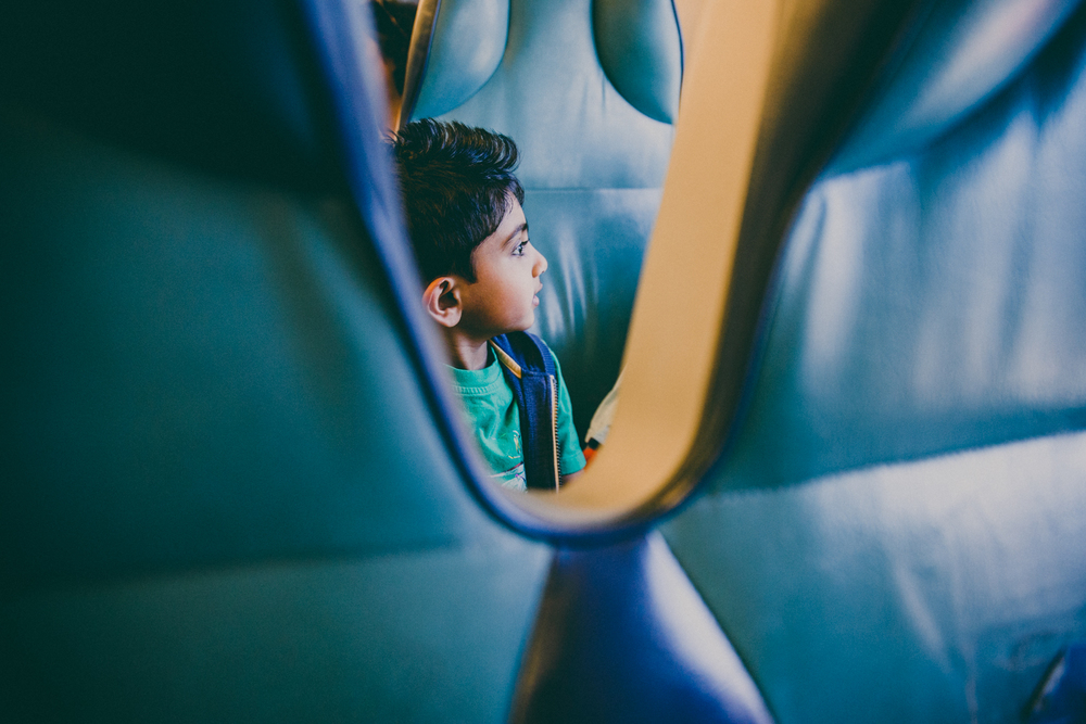 Francesca Russell Photography | Long Island Family Documentary Photography | Boy on Train
