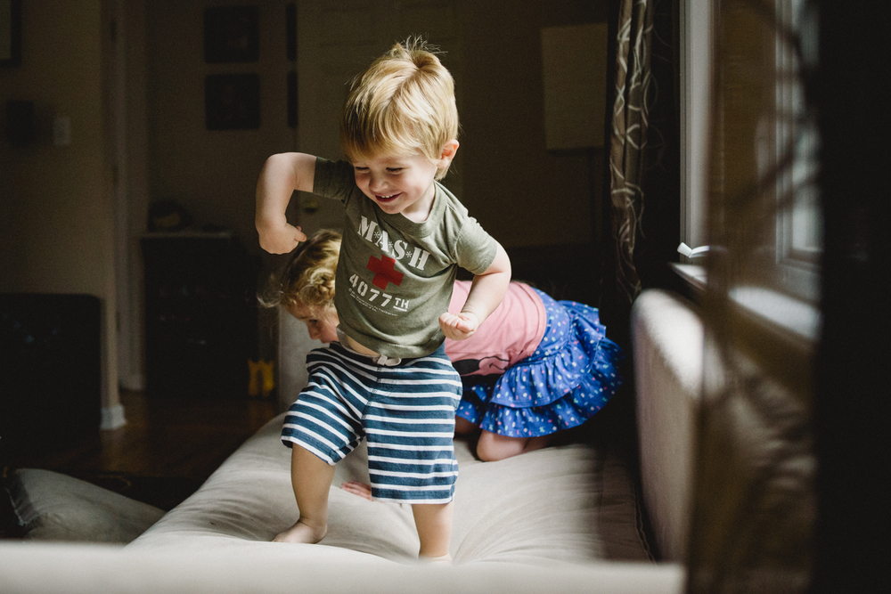 Francesca Russell Photography | Long Island Family Documentary Photography | Boy dancing