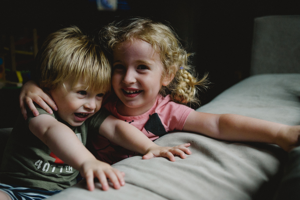 Francesca Russell Photography | Long Island Family Documentary Photography | Brother and Sister