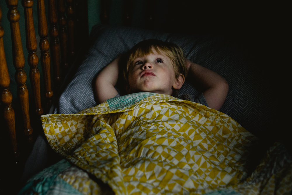 Francesca Russell Photography | Long Island Family Documentary Photography | Boy in Crib