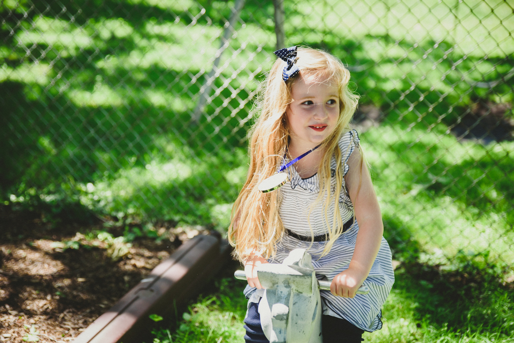 Francesca Russell Photography | Long Island Family Photographer | Girl on playground