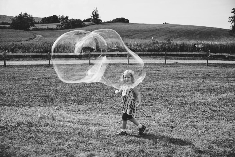 Francesca Russell Photography | Documentary Family Photographer on Long Island | Bubble