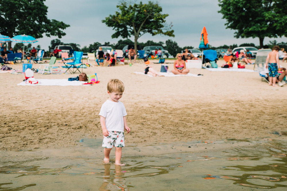 Francesca Russell Photography | Documentary Family Photographer on Long Island | Boy on beach