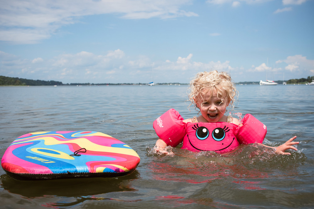 Francesca Russell Photography | Long Island Family Documentary Photography | Senja swimming