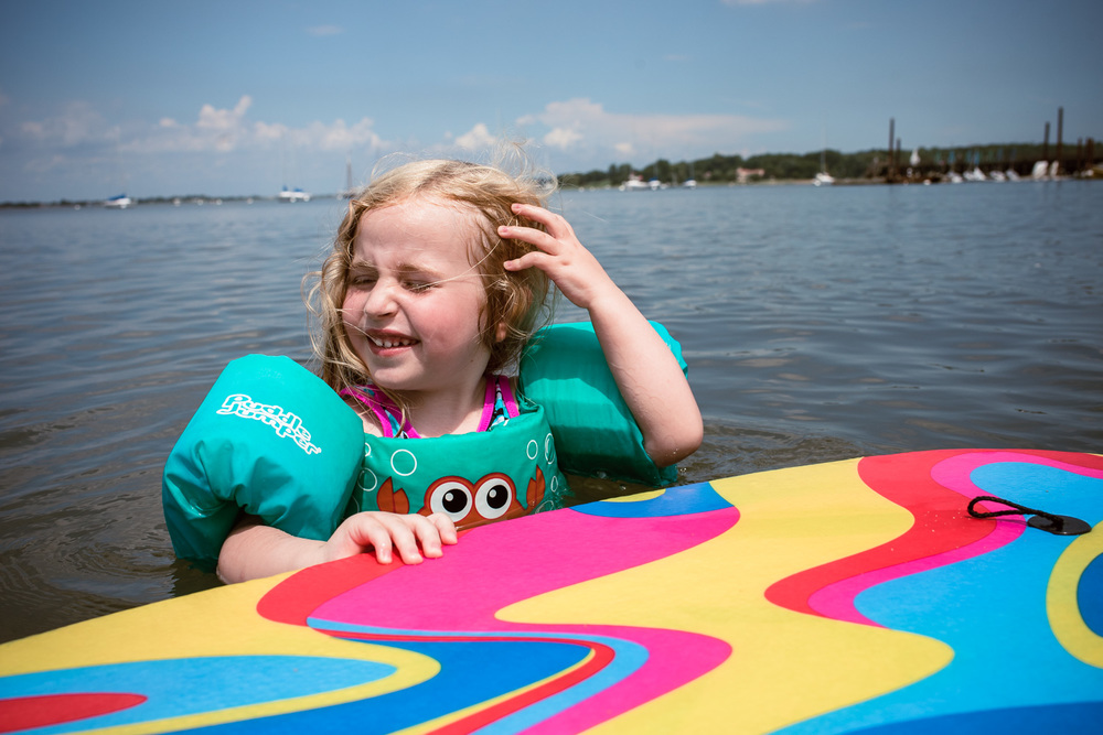 Francesca Russell Photography | Long Island Family Documentary Photography | Lila swimming