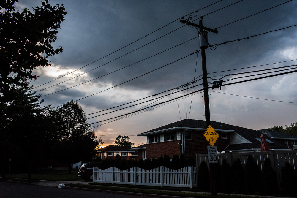 Francesca Russell Photography | Long Island Family Documentary Photography | Stormy Night
