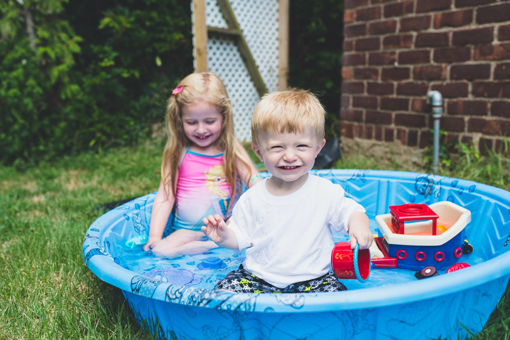 Francesca Russell Photography | Long Island Family Photographer | Kiddie Pool