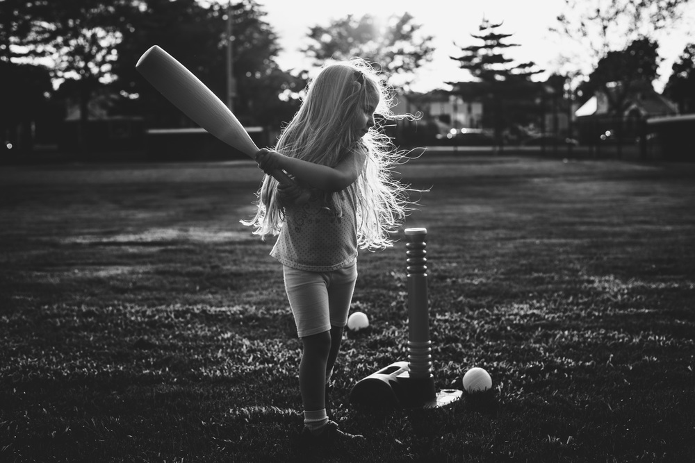 Francesca Russell Photography | Garden City Family Photographer | T-ball